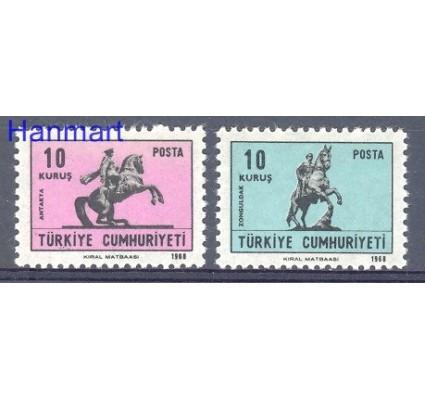 Znaczek Turcja 1968 Mi 2113-2114 Czyste **
