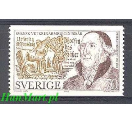 Znaczek Szwecja 1975 Mi 904 Czyste **