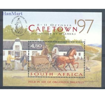 Znaczek Republika Południowej Afryki 1997 Mi bl 64 Czyste **