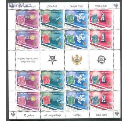 Znaczek Czarnogóra 2006 Mi ark 108-111I Czyste **