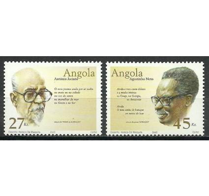 Znaczek Angola 2003 Mi 1695-1696 Czyste **