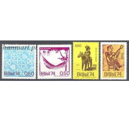Znaczek Brazylia 1974 Mi 1454-1457 Czyste **