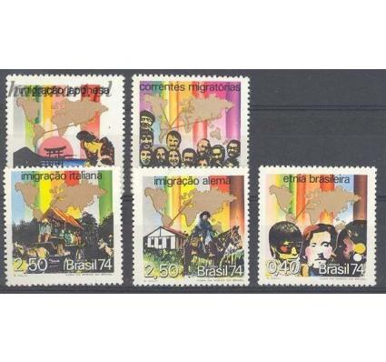 Znaczek Brazylia 1974 Mi 1431-1435 Czyste **