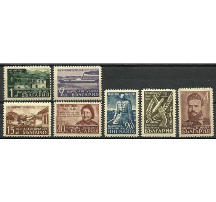 Znaczek Bułgaria 1948 Mi 669-675 Czyste **