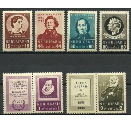 Znaczek Bułgaria 1955 Mi zf 967-972 Czyste **
