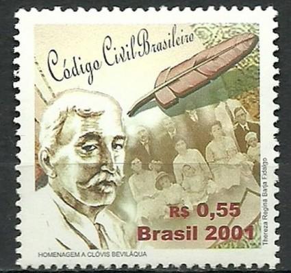 Znaczek Brazylia 2001 Mi 3184 Czyste **