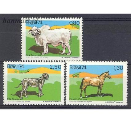 Brazylia 1974 Mi 1459-1461 Czyste **