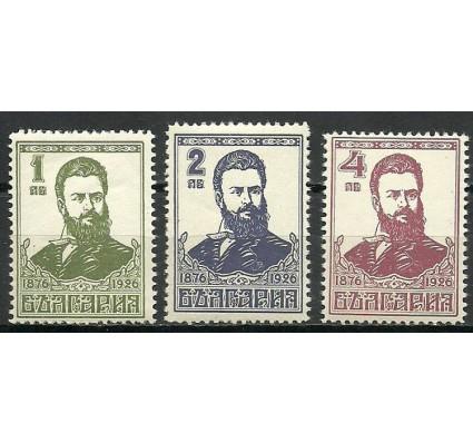 Znaczek Bułgaria 1926 Mi 196-198 Czyste **