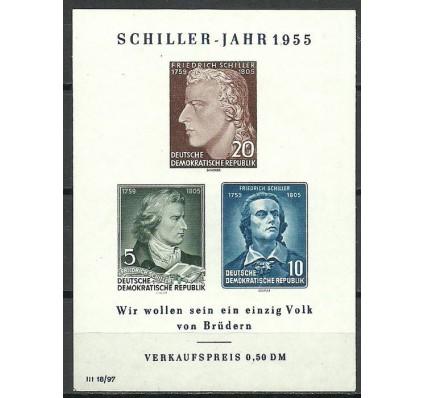 Znaczek NRD / DDR 1955 Mi bl 12 Z podlepką *