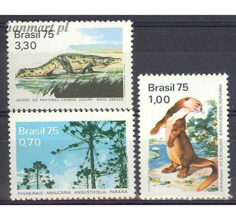 Brazylia 1975 Mi 1488-1490 Czyste **