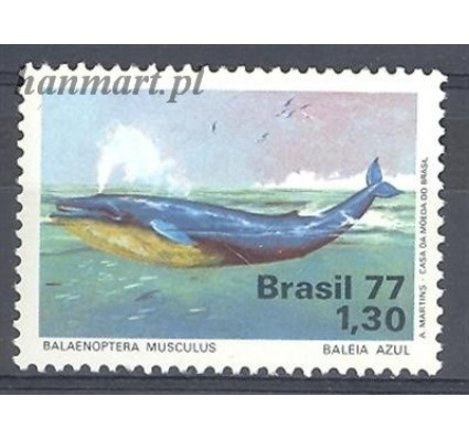 Znaczek Brazylia 1977 Mi 1597 Czyste **