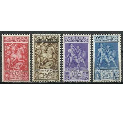 Znaczek Włochy 1941 Mi 629-632 Z podlepką *