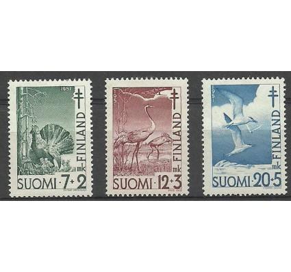 Znaczek Finlandia 1951 Mi 396-398 Z podlepką *