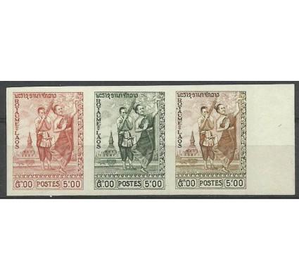 Znaczek Laos 1959 Mi kol 96 Czyste **