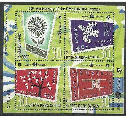 Znaczek Cypr  2006 Mi bl 25 Czyste **