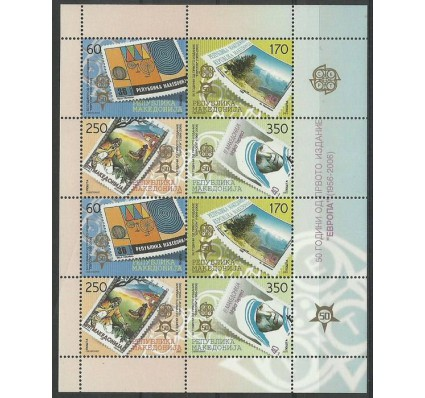 Znaczek Macedonia 2005 Mi ark 370-373 Czyste **