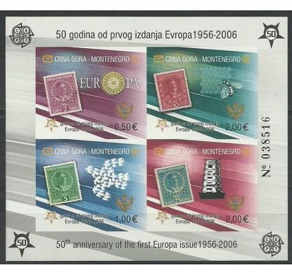 Znaczek Czarnogóra 2006 Mi bl 2B Czyste **