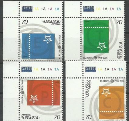 Znaczek Armenia 2006 Mi 543-546 Czyste **