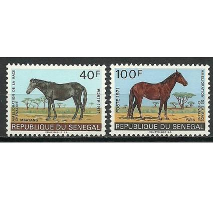 Znaczek Senegal 1971 Mi 448-449 Czyste **