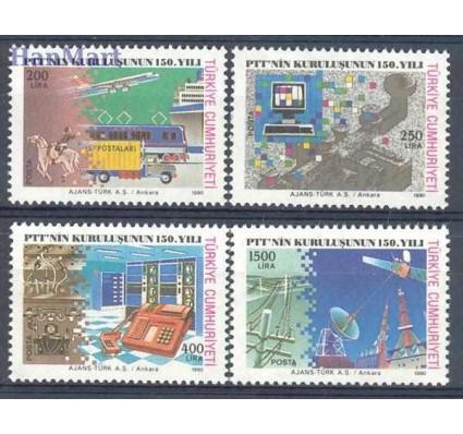 Znaczek Turcja 1990 Mi 2910-2913a Czyste **