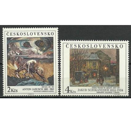 Znaczek Czechosłowacja 1989 Mi 1325-1326 Czyste **