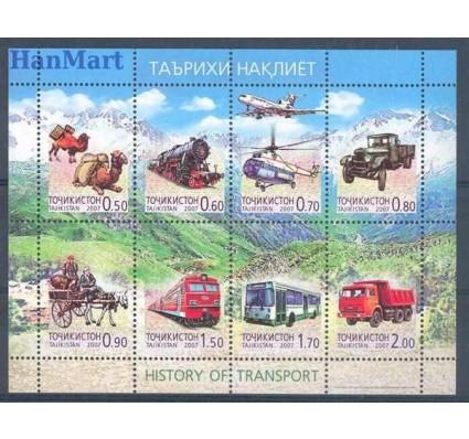 Znaczek Tadżykistan 2007 Mi 476-483 Czyste **