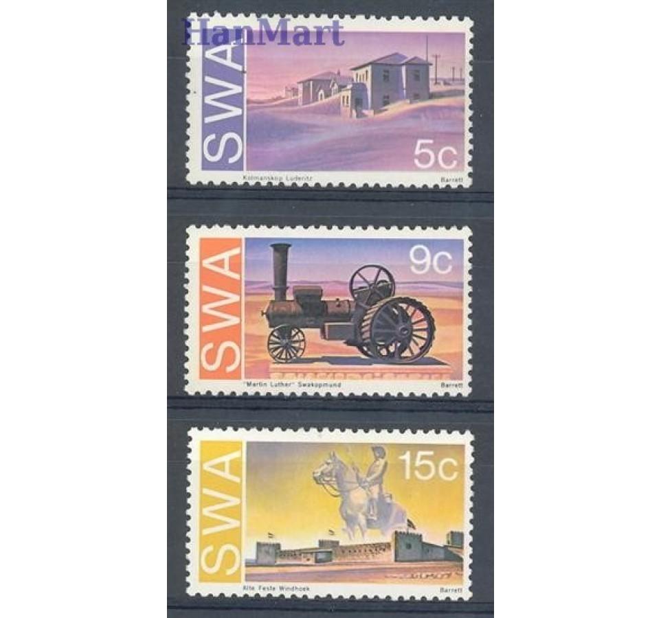 Afryka Południowo-Zachodnia 1975 Mi 406-408 Czyste **