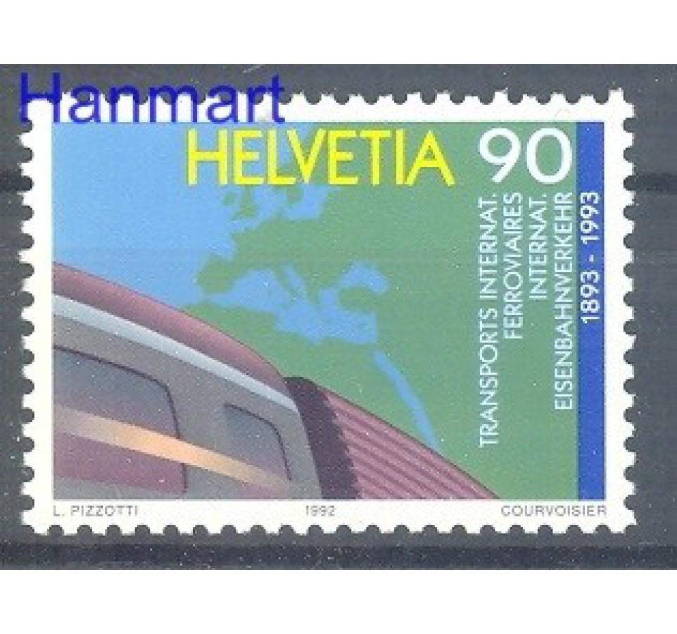 Szwajcaria 1992 Mi 1488 Czyste **