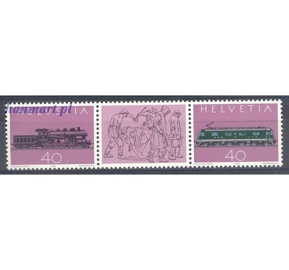 Szwajcaria 1982 Mi 1214-1215 Czyste **