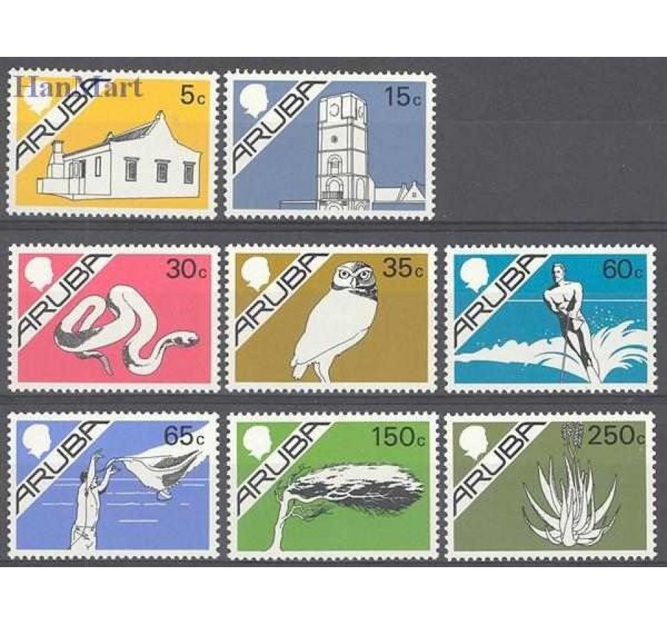 Aruba 1986 Mi 5-12 Czyste **