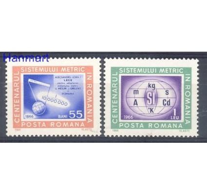 Znaczek Rumunia 1966 Mi 2533-2534 Czyste **