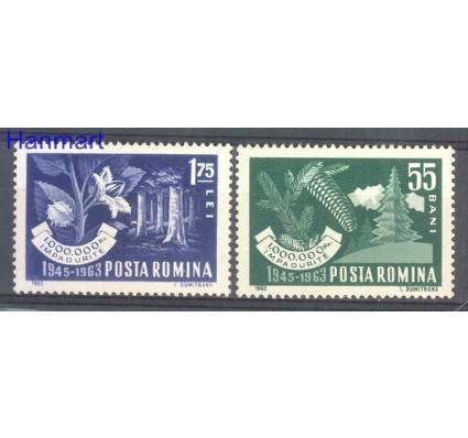 Znaczek Rumunia 1963 Mi 2212-2213 Czyste **