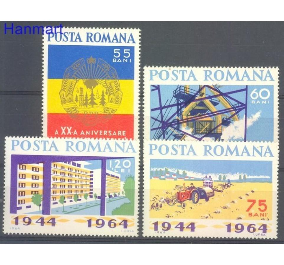Rumunia 1964 Mi 2305-2308 Czyste **