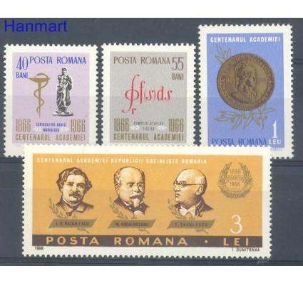 Znaczek Rumunia 1966 Mi 2540-2543 Czyste **