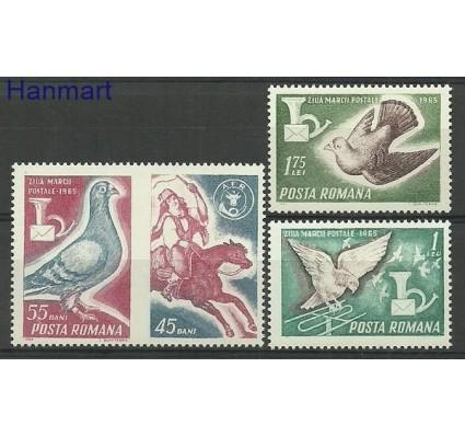 Znaczek Rumunia 1965 Mi 2457-2459 Czyste **