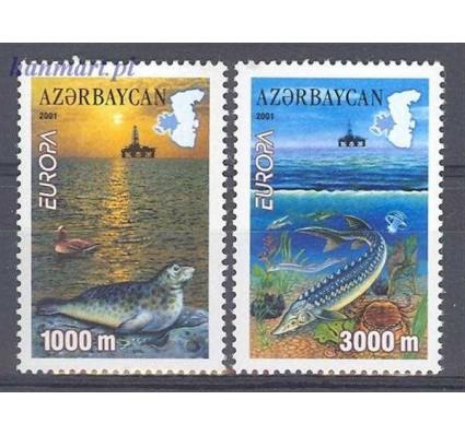 Znaczek Azerbejdżan 2001 Mi 494-495 Czyste **