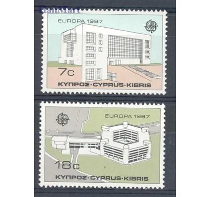 Znaczek Cypr  1987 Mi 681-682 Czyste **