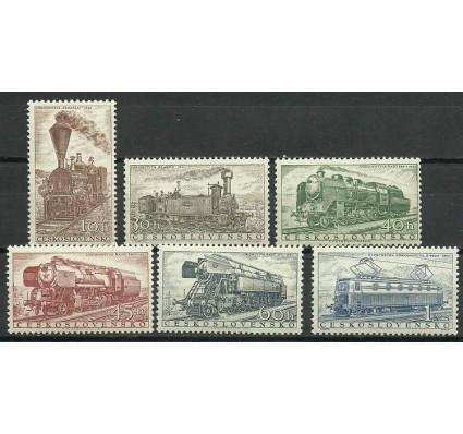 Znaczek Czechosłowacja 1956 Mi 988-993 Czyste **