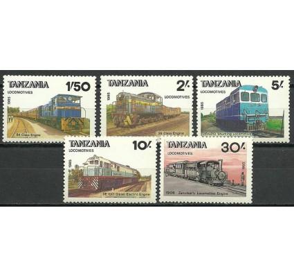 Znaczek Tanzania 1985 Mi 281-285 Czyste **