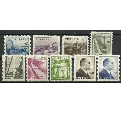 Znaczek Turcja 1960 Mi 1785-1793 Czyste **