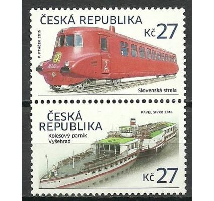 Znaczek Czechy 2016 Mi 874-875 Czyste **