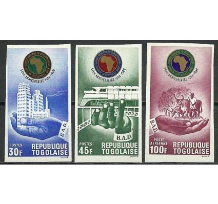 Znaczek Togo 1969 Mi 725-727B Czyste **