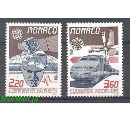 Znaczek Monako 1988 Mi 1859-1860 Czyste **