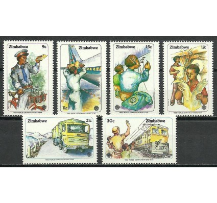 Znaczek Zimbabwe 1983 Mi 280-285 Czyste **