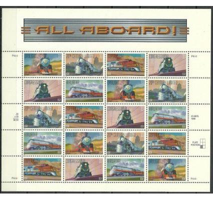 Znaczek USA 1999 Mi ark 3159-3163 Czyste **