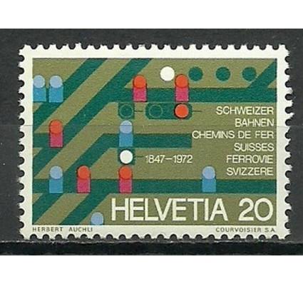 Znaczek Szwajcaria 1972 Mi 965 Czyste **