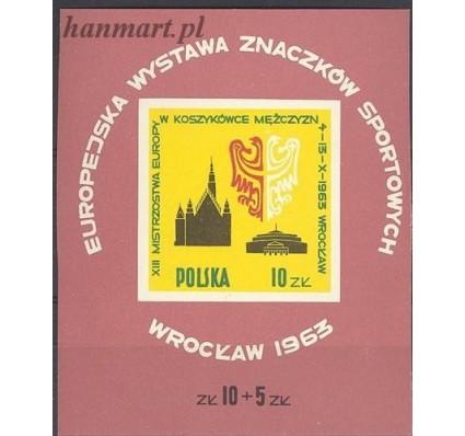 Znaczek Polska 1963 Mi bl 30 Fi bl 39 Czyste **