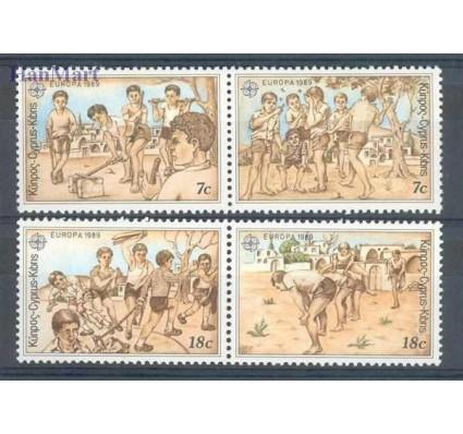 Znaczek Cypr  1989 Mi 715-718 Czyste **