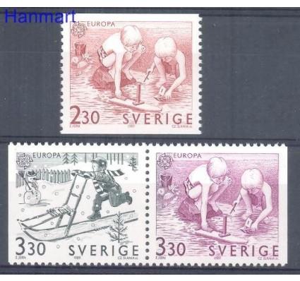 Znaczek Szwecja 1989 Mi 1549-1551 Czyste **