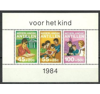 Znaczek Antyle Holenderskie 1984 Mi bl 28 Czyste **